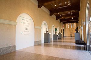 Cornell Museum Foyer Interior